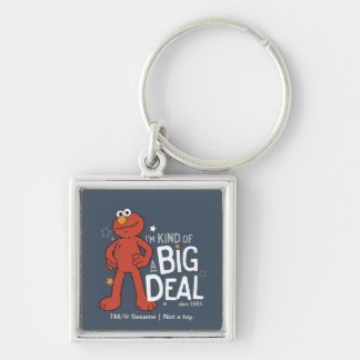 Elmo | I'm Kind of a Big Deal Keychain
