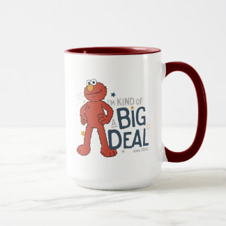 Elmo   I'm Kind of a Big Deal Mug