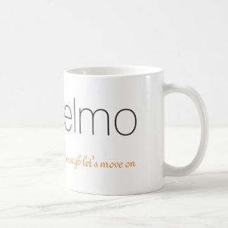 Elmo & Logo Mug | Enough Let's Move On