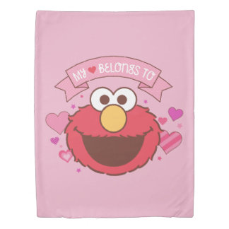 Elmo | My Heart Belongs To Elmo Duvet Cover