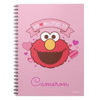Elmo | My Heart Belongs To Elmo Notebook