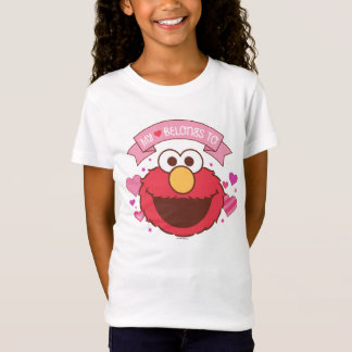 Elmo   My Heart Belongs To Elmo T-Shirt