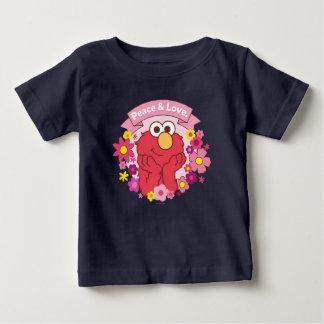 Elmo   Peace & Love Baby T-Shirt