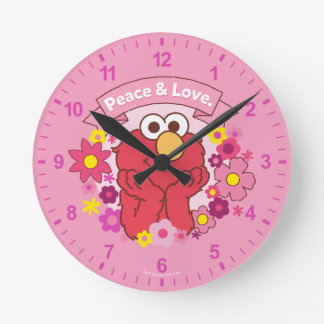 Elmo | Peace & Love Clocks