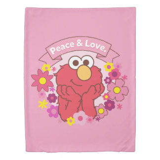 Elmo | Peace & Love Duvet Cover