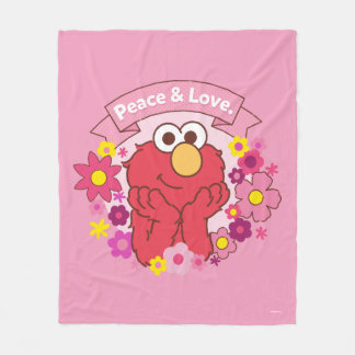 Elmo | Peace & Love Fleece Blanket