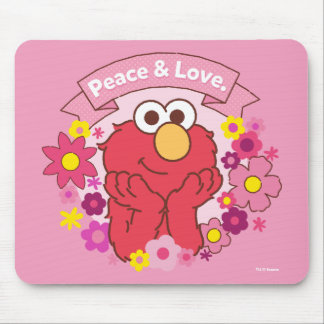 Elmo | Peace & Love Mouse Pad