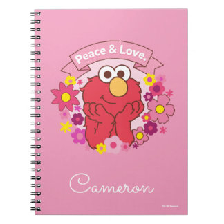 Elmo | Peace & Love Notebook