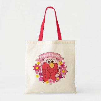 Elmo | Peace & Love Tote Bag