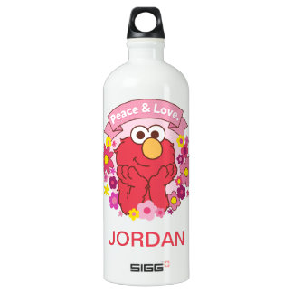 Elmo | Peace & Love Water Bottle