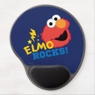 Elmo Rocks Gel Mouse Pad