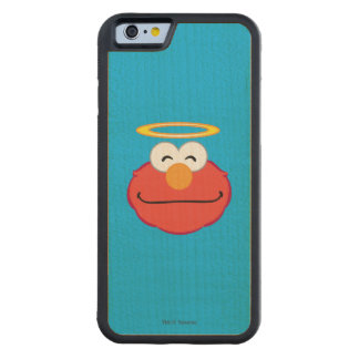 Elmo Smiling Face with Halo Maple iPhone 6 Bumper