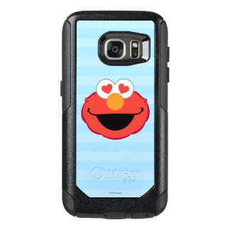 Elmo Smiling Face with Heart-Shaped Eyes OtterBox Samsung Galaxy S7 Case