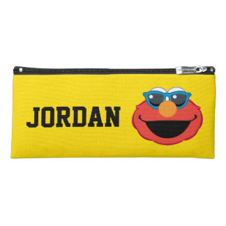 Elmo  Smiling Face with Sunglasses Personalized Pencil Case