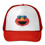 Elmo  Smiling Face with Sunglasses Trucker Hat