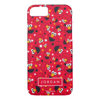 Elmo | So Silly Star Pattern | Add Your Name Case-Mate iPhone Case