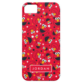 Elmo | So Silly Star Pattern | Add Your Name iPhone 5 Case