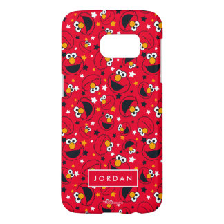 Elmo | So Silly Star Pattern | Add Your Name Samsung Galaxy S7 Case