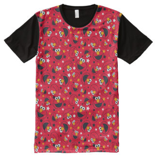 Elmo | So Silly Star Pattern All-Over-Print T-Shirt