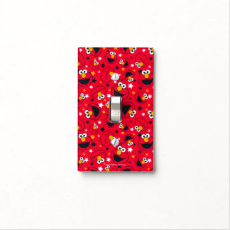 Elmo | So Silly Star Pattern Light Switch Cover