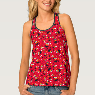 Elmo | So Silly Star Pattern Tank Top