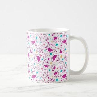 Elmo | Sweet & Cute Star Pattern Coffee Mug