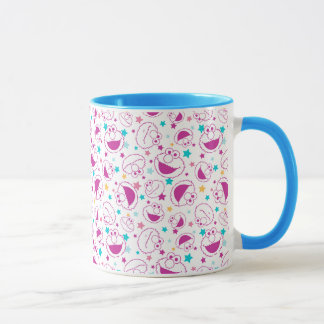 Elmo | Sweet & Cute Star Pattern Mug