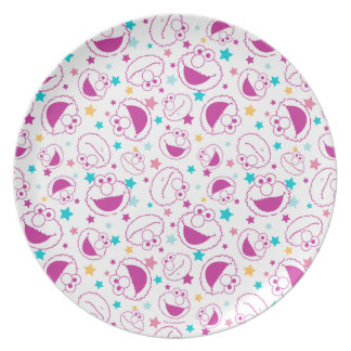 Elmo | Sweet & Cute Star Pattern Plate