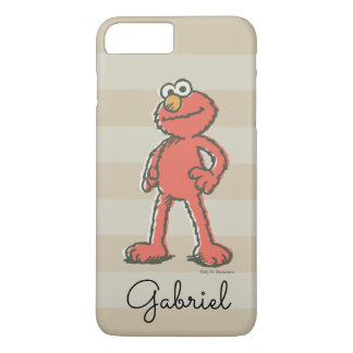 Elmo Vintage | Add Your Name iPhone 7 Plus Case