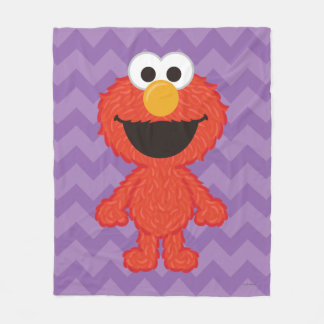 Elmo Wool Style Fleece Blanket