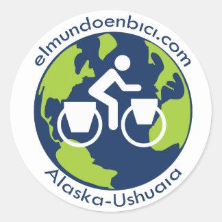 Elmundoenbici.com logo sticker