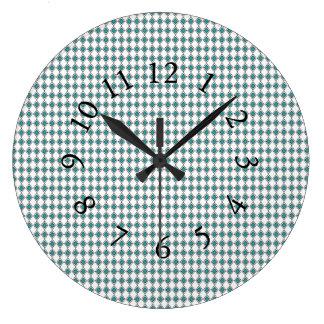 Eloquent-Blue-Diamond--Chic-Wail-Clocks Large Clock