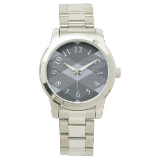 Eloquent-Quilt-Mock-Gray-Multi-Styles Watch