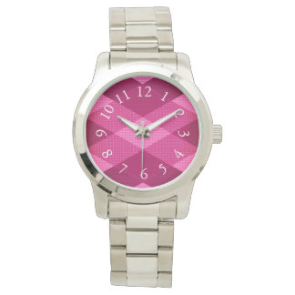 Eloquent-Quilt-Mock-Pink-Multi-Styles Watch