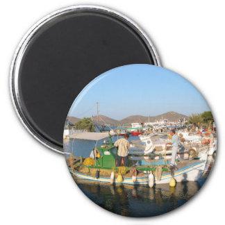 Elounda Crete Fridge Magnet