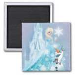 Elsa and Olaf - Icy Glow Fridge Magnet