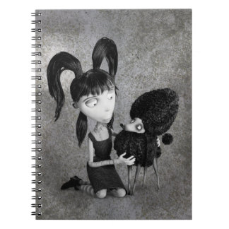Elsa and Persephone Spiral Notebook