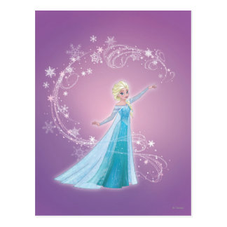 Elsa | Love Thaws, Love Glows Postcard
