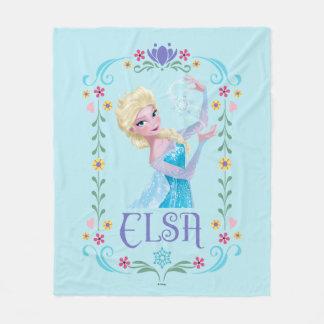 Elsa | My Powers are Strong Fleece Blanket