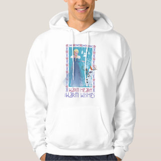 Elsa & Olaf | Warm Heart Warm Wishes Hoodie