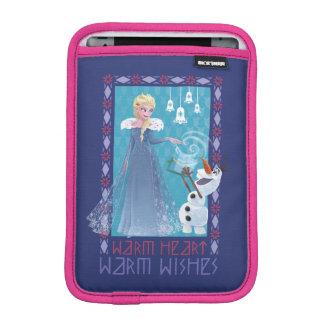 Elsa & Olaf | Warm Heart Warm Wishes iPad Mini Sleeve