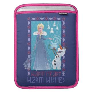Elsa & Olaf | Warm Heart Warm Wishes iPad Sleeve