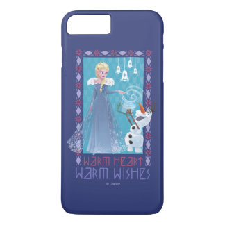 Elsa & Olaf | Warm Heart Warm Wishes iPhone 8 Plus/7 Plus Case