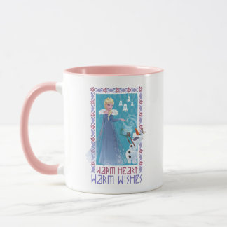 Elsa & Olaf | Warm Heart Warm Wishes Mug
