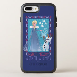 Elsa & Olaf | Warm Heart Warm Wishes OtterBox Symmetry iPhone 8 Plus/7 Plus Case