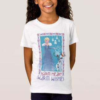 Elsa & Olaf | Warm Heart Warm Wishes T-Shirt