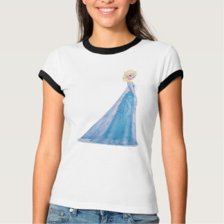 Elsa | Side Profile Standing Tee Shirts