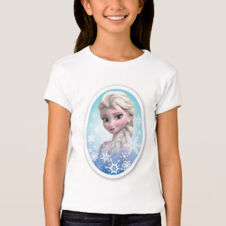 Elsa   Snowflake Frame T-Shirt