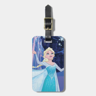 Elsa | Sparkling, Elegant Ice Luggage Tag