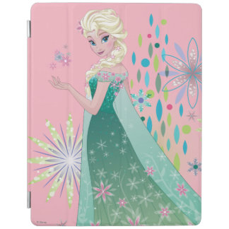 Elsa | Summer Wish with Flowers iPad Cover